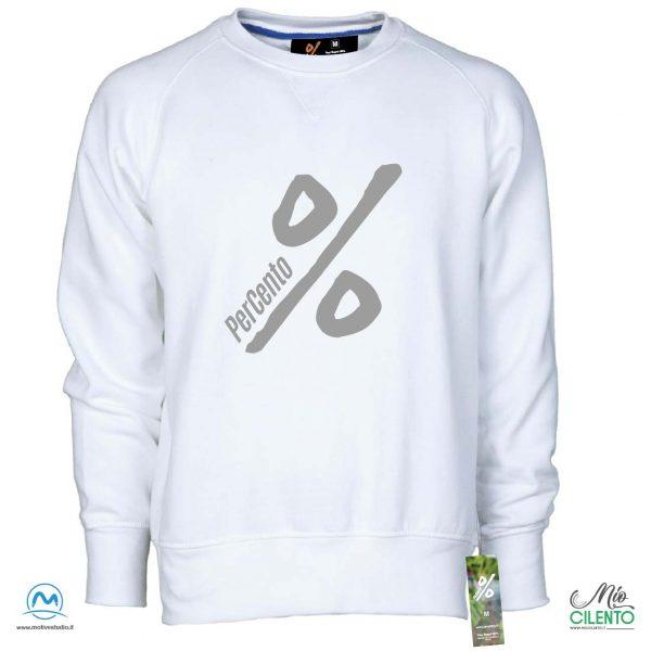 Felpa Percento % white