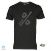T-shirt Percento % black man